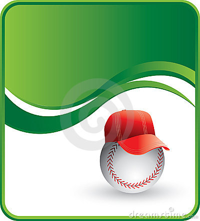 Baseball with hat