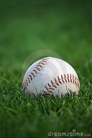 Free Baseball In The Outfield Stock Photography - 12160152