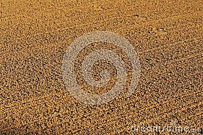 Baseball infield sandy background texture