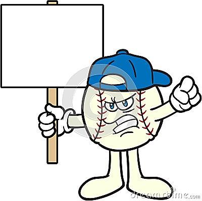 FOTO TË MUJIT JANAR 2015 - Faqe 2 Baseball-karikatur-maskottchen-protest-13786917
