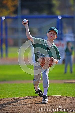 Free Baseball Pitcher Pitching Stock Photography - 19269782