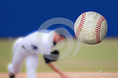 Baseball Pitcher Stock Photo