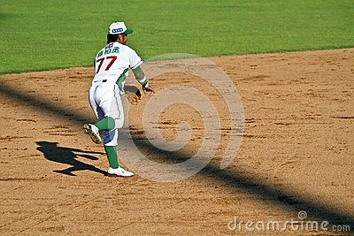 Baseball player Editorial Stock Image