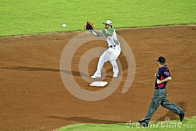 Baseball player Editorial Stock Image