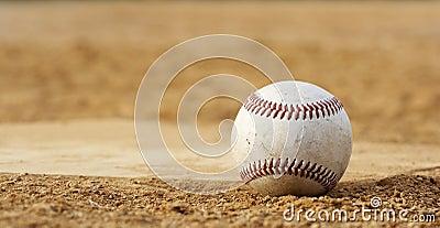 Baseball at rest