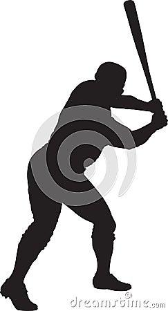 Baseball-Spieler, geschlagener Eierteig 01