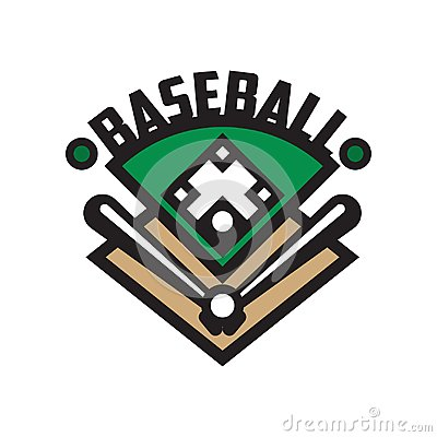 Free Baseball Sport Logo Template, Design Element For, Badge, Banner, Emblem, Label, Insignia Vector Illustration On A White Royalty Free Stock Images - 110207109