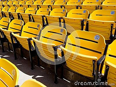 Baseball stadium Editorial Stock Image