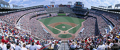 Baseball stadium Editorial Stock Photo