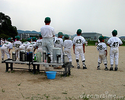 Baseball Team Royalty Free Stock Photography - Image: 196237
