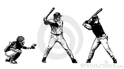 Baseball trio