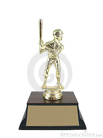 Free Baseball Trophy Isolated. Stock Photos - 337123