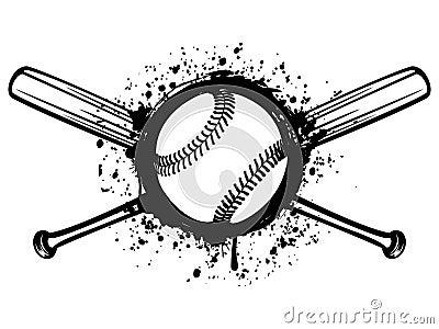 Baseball 1 Vector Illustration