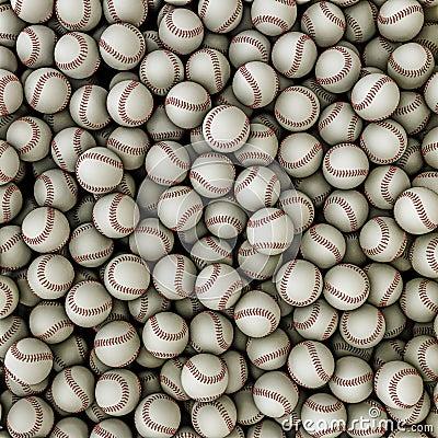 Baseballs background