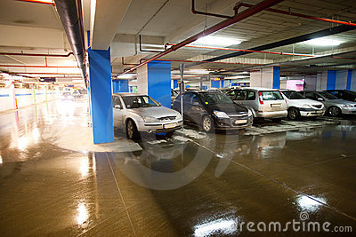Basement car park