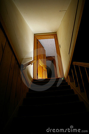 Free Basement Stairs Royalty Free Stock Image - 894836