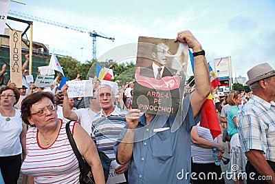 Basescu Pinocchio Editorial Photography