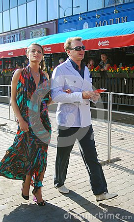 Basharov and Sazonova at Film Festival Editorial Photography