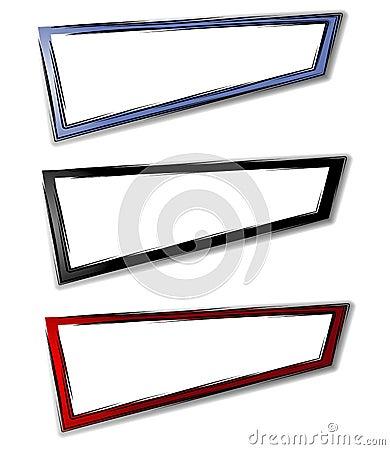 Basic Abstract Web Page Logos