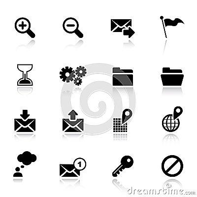 Free Basic - Classic Web Icons Royalty Free Stock Image - 20336706
