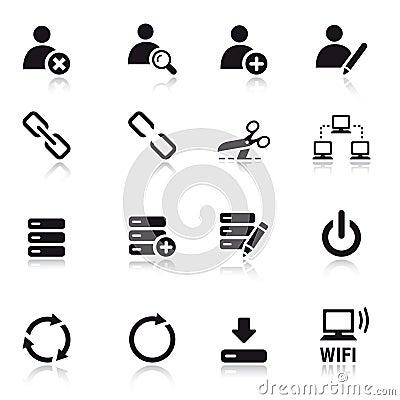 Free Basic - Classic Web Icons Royalty Free Stock Photography - 20336707