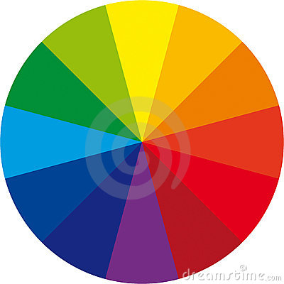 Free Basic Color Wheel Royalty Free Stock Photos - 13326728