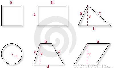 Basic geometric shapes