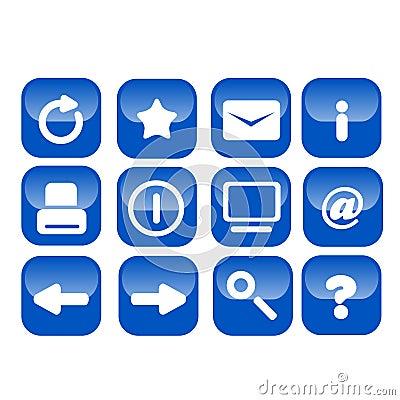 Basic web icons bold