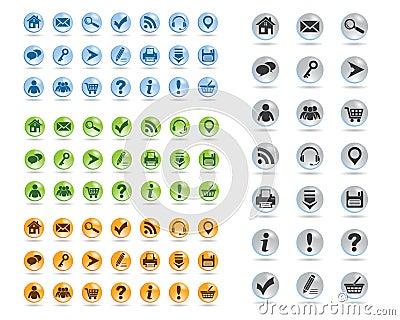Basic web icons set #11