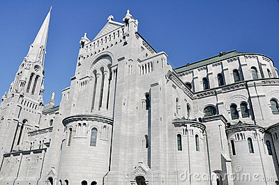 Basilica of Anne of Beaupre in Quebec