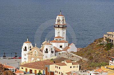 Basilica of Candelaria, Tenerife Spain