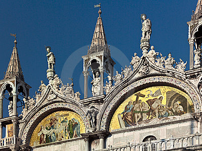 Basilica De San Marco In Venice - Italy Royalty Free Stock Photo - Image: 15574445