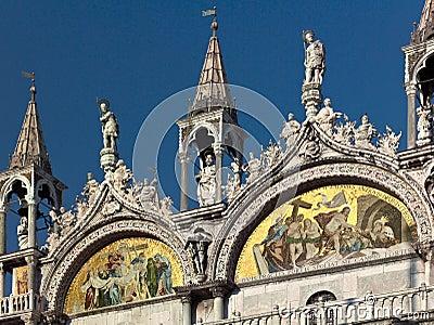 Basilica de San Marco in Venice - Italy