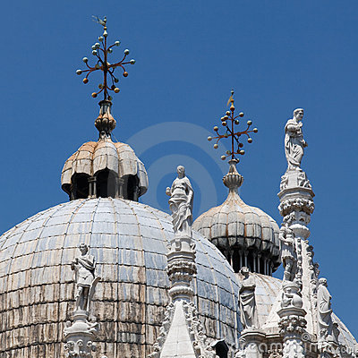 Free Basilica Di San Marco St. Mark S Cathedral Venice Royalty Free Stock Photography - 11010017