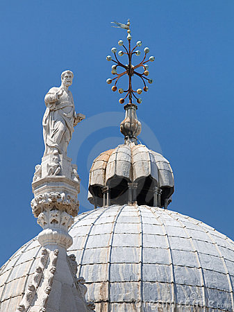 Free Basilica Di San Marco St. Mark S Cathedral Venice Royalty Free Stock Images - 11010039