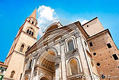 Basilica di Sant Andrea in Mantua, Lombardy, Italy