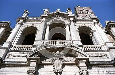The Basilica di Santa Maria Maggiore in Rome