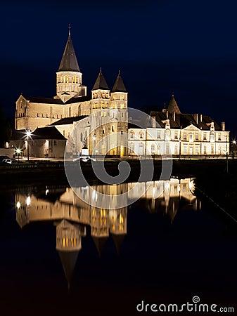 The basilica du Sacre Coeur in Paray-le-Monial