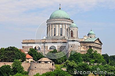 Basilica Esztergom ,Hungary Stock Photo