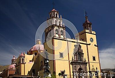 Basilica Guanajuato Mexico
