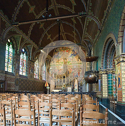 Basilica of the Holy Blood in Bruges.
