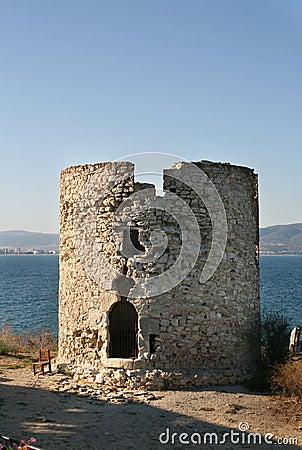 Basilica Holy Mother Eleusa. Nessebar