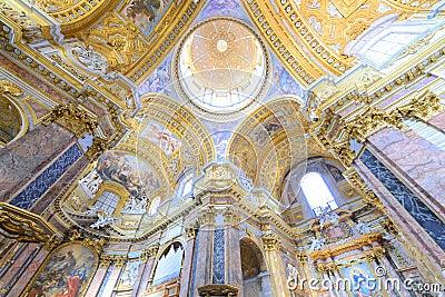 Basilica interior paintings