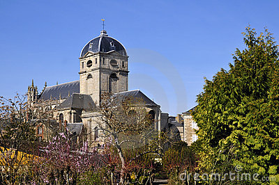 Basilica Notre Dame at Alençon in France