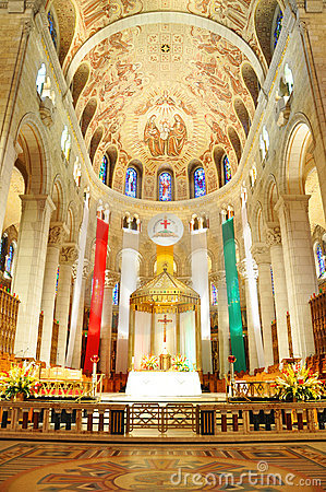 Free Basilica Of Sainte-Anne-de-Beaupre, Quebec Royalty Free Stock Photo - 21285295