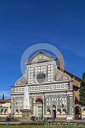 Free Basilica Of Santa Maria Novella, Florence, Italy Royalty Free Stock Photos - 56390188