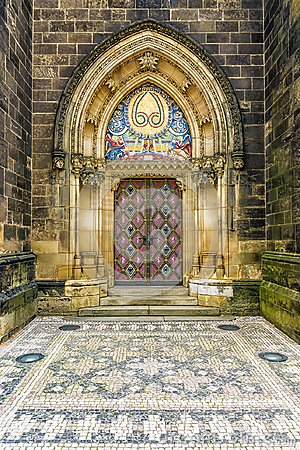 Free Basilica Of St Peter And St Paul In Vysehrad In Prague Stock Image - 111047321