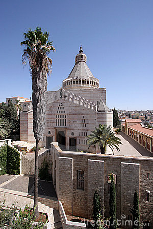 Free Basilica Of The Annunciation Royalty Free Stock Images - 13899959