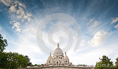 Basilica Sacred Heart of Paris.
