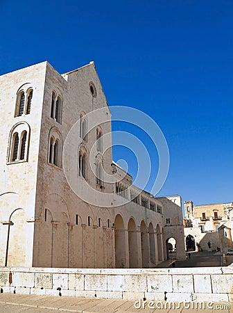 The Basilica of Saint Nicholas. Bari. Apulia.
